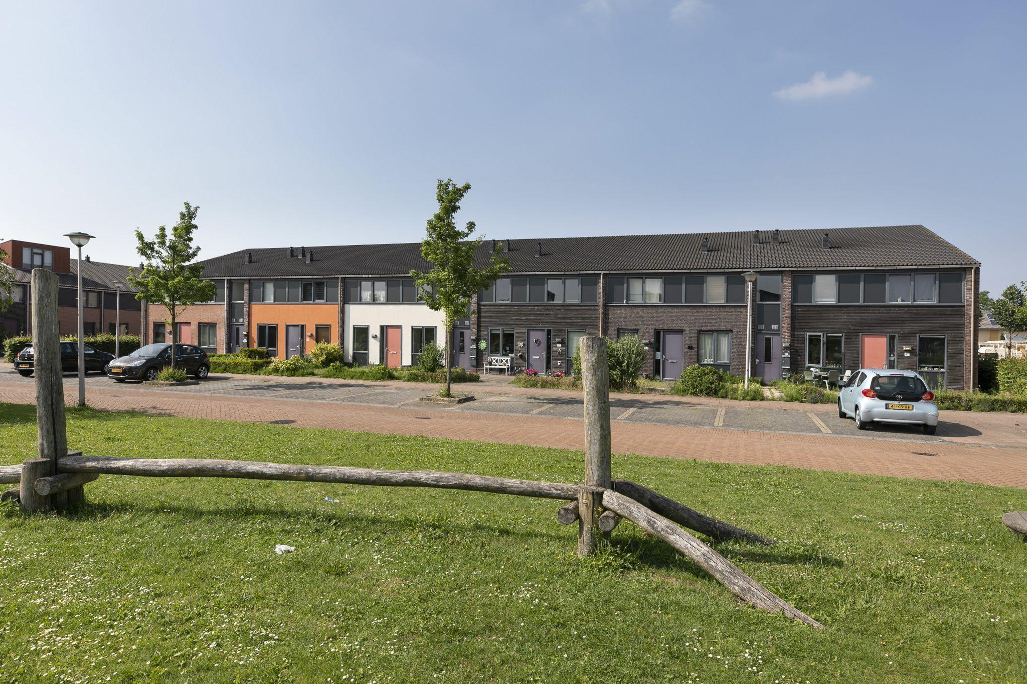 In een rustige woonwijk in een nieuw gedeelte van Barendrecht
