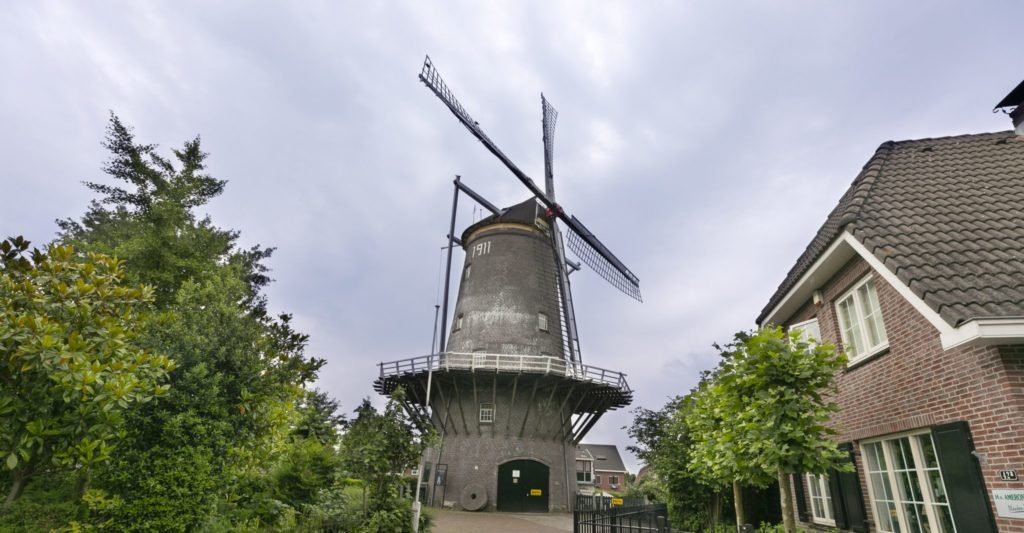 Vlakbij het centrum van Veenendaal.